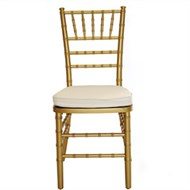 Locação cadeira Tiffany Dourada