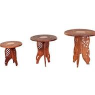 Locação conjunto de mesas Indiana
