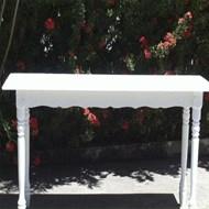 Locação mesa aparador madeira branca