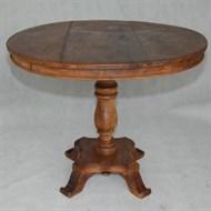 Locação mesa redonda madeira