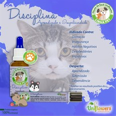 Floral Pet Disciplina gotas - Uniflowers