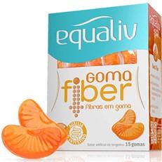 Fibras em Goma Equaliv Fiber 15 unidades