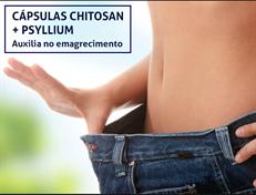 CÁPSULAS CHITOSAN + PSYLLIUM