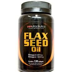 Flex seed Oil com Ômega 3 e 6 - 120 capsulas