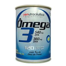 Ômega 3 – 120 cáps - Yenutracêutica