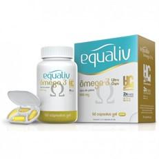 Ômega 3 Equaliv ultra 60 cápsulas (com porta cápsulas)
