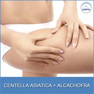 Centella Asiatica 500mg + Alcachofra 500mg com 60 capsulas