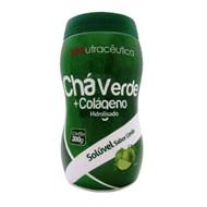 Chá verde + Colageno Hidrolisado Sabor Limão da Yenutraceutica