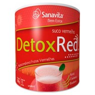 Detox Red Sanavita - Frutas Vermelhas