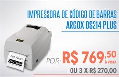 Compre direto do distribuidor Argox e pague mais barato
