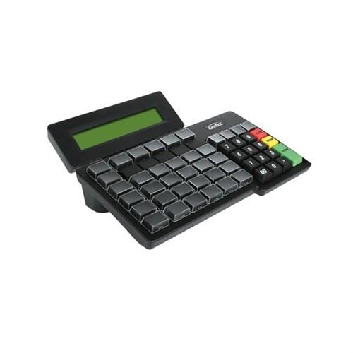 Teclado Reduzido Gertec TEC-55 com Display (PS2)