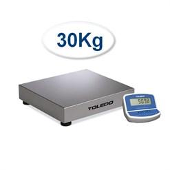 Balança de Bancada Toledo 2098 (30 Kg) Indicador Remoto