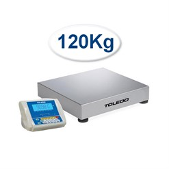 Balança Contadora Toledo 2098C (120 Kg) Indicador Remoto