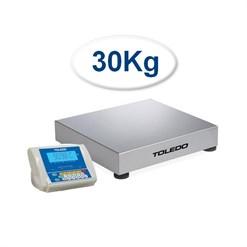 Balança Contadora Toledo 2098C (30 Kg) Indicador Remoto