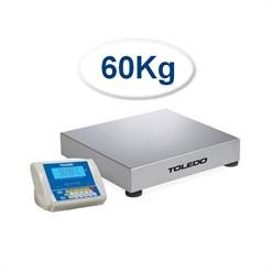 Balança Contadora Toledo 2098C (60 Kg) Indicador Remoto