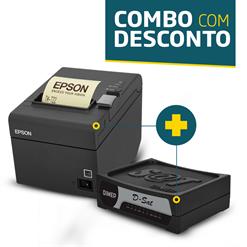Impressora Epson TM-T20 + SAT Fiscal Dimep D-SAT