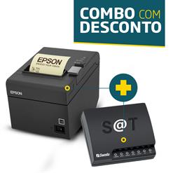 Impressora Epson TM-T20 + SAT Fiscal Sweda SS-1000