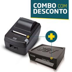 Impressora Daruma DR-800L + SAT Fiscal Elgin Linker