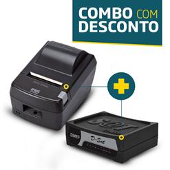 Impressora Daruma DR-800L + SAT Fiscal Dimep D-SAT