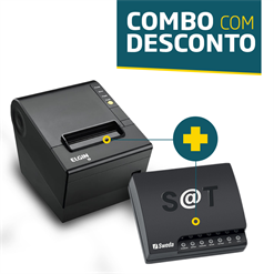 Impressora Elgin i9 (USB) + SAT Fiscal Sweda SS-1000