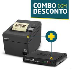 Impressora Epson TM-T20 + SAT Fiscal Bematech RB-1000 FI