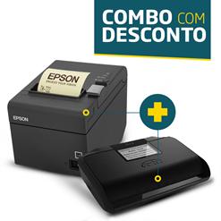 Impressora Epson TM-T20 + SAT Fiscal Gertec GerSAT