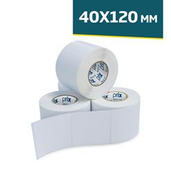 Etiqueta Térmica Regispel com 250 etiquetas 40 x 120 mm