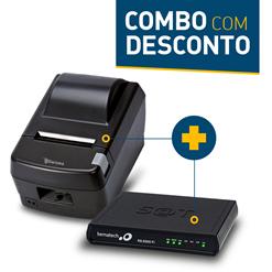 Impressora Daruma DR-800L + SAT Fiscal Bematech RB-2000 FI