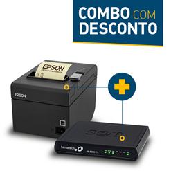 Impressora Epson TM-T20 + SAT Fiscal Bematech RB-2000 FI