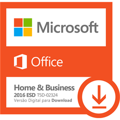Software Microsoft Office Home & Business 2016 ESD