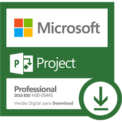 Software Microsoft Project Professional 2016 ESD