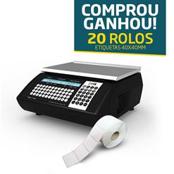 Balança Toledo Prix 4 UNO 15Kg Web + 20 rolos etiquetas