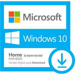 Software Microsoft Windows 10 Home 32/64 bits ESD