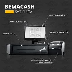 BEMACASH - Solução Completa com SAT Fiscal Bematech