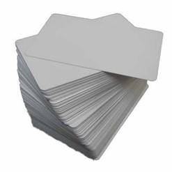 Cartão de PVC Branco para Impressora de Crachá - Caixa com 500 Cartões