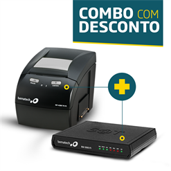 Impressora Bematech MP-4200 TH + SAT Fiscal RB-1000 FI