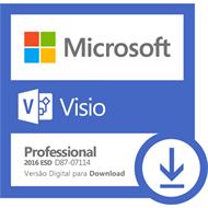 Software Microsoft Visio Professional 2016 ESD
