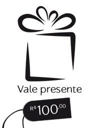 Gift Card R$ 100,00 - Vale presente Mãos da Terra