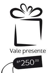 Gift Card R$ 250,00 - Vale presente Mãos da Terra
