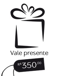 Gift Card R$ 350,00 - Vale presente Mãos da Terra