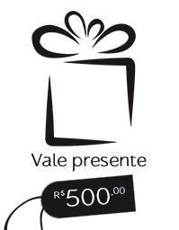 Gift Card R$ 500,00 - Vale presente Mãos da Terra