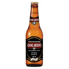 Dog Beer para Cães Carne - 355ml