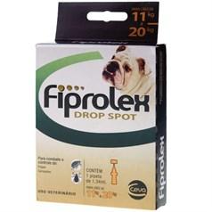 Anti Pulgas e Carrapatos Fiprolex Drop Spot Cão 10 a 20kg