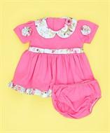 Vestido c/ Calcinha Rosa Chiclete