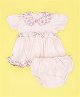 Vestido c/ Calcinha Rosa Floral