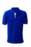 Camisa Polo Manga Curta de Malha Piquet