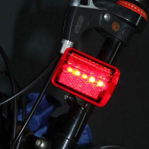 Lanterna Traseira Bike Bicicleta 5 LEDS
