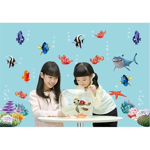 Adesivo Infantil Procurando Nemo para Parede
