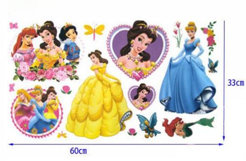 Adesivo de Parede Infantil Princesas da Disney