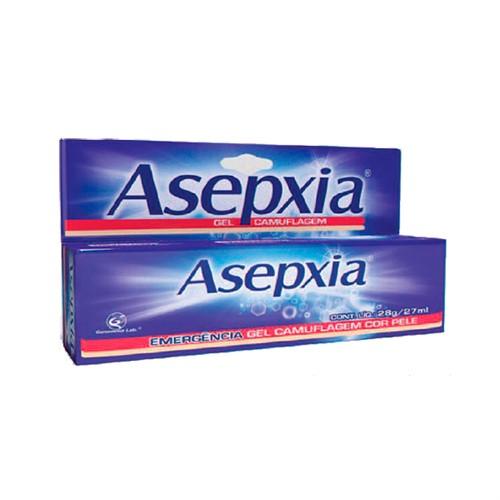 Asepxia Gel Camuflagem Secante Cor Bege 28g